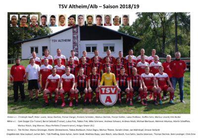 TSV A Saison 1819